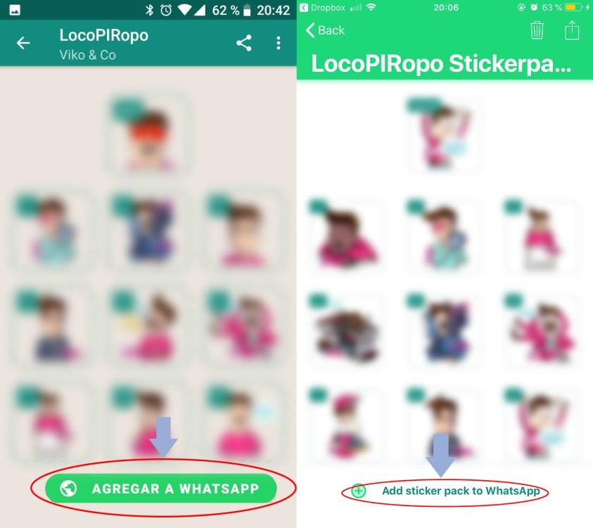 Stickers Locopiropo Whatsapp