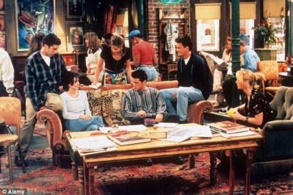 El Central Perk, el bar de referencia en Friends.