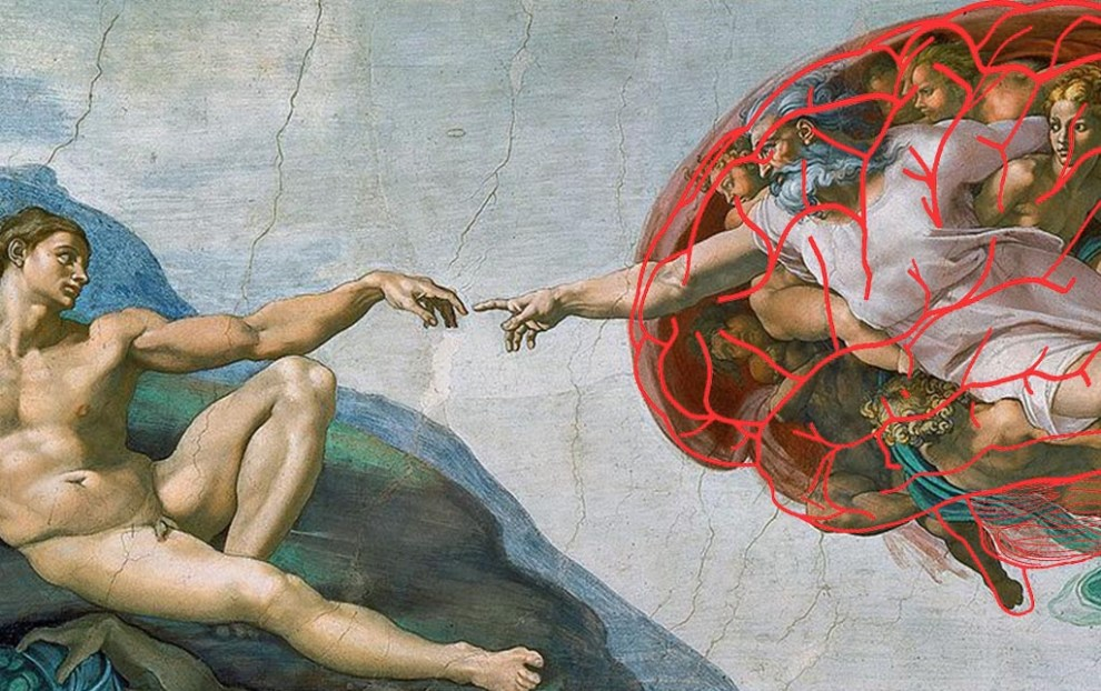 cerebro capilla sixtina miguel ángel