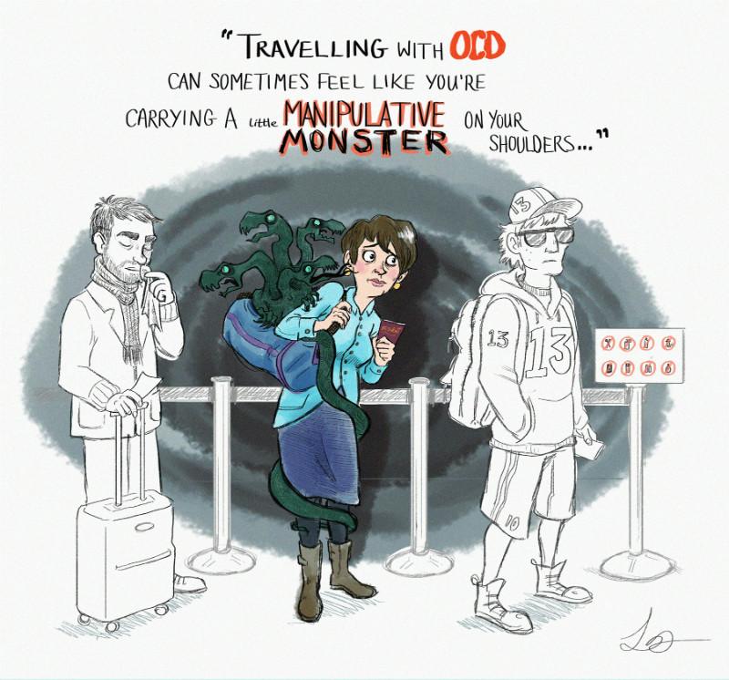 viajar con TOC
