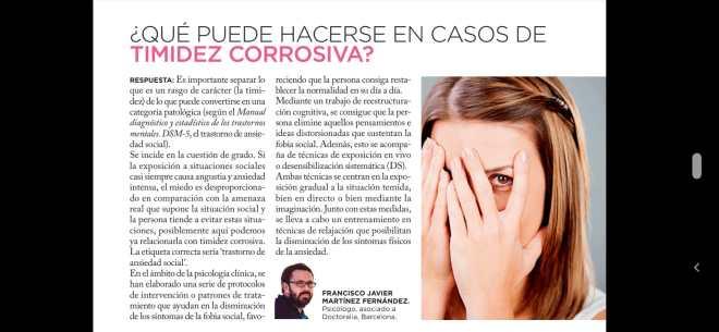 Revista mia Timidez corrosiva, 11/03/2020