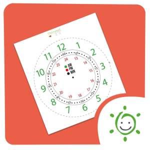 Arquivo relógio analógico