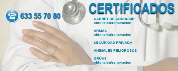 Certificados PsicoManzanares