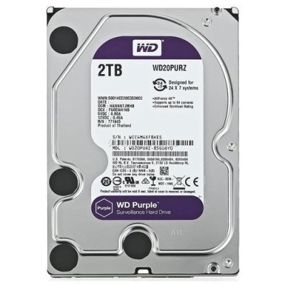 WD 2TERRA PURPLE