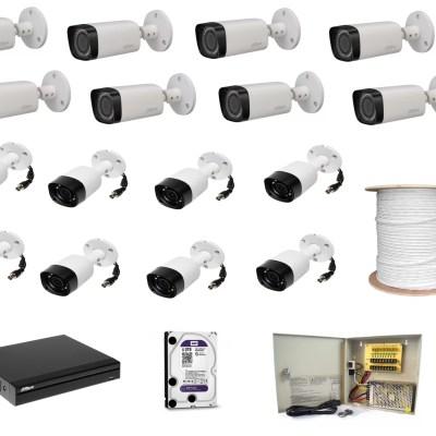DAHUA 16ch 2 mpixel CCTV kit 1628
