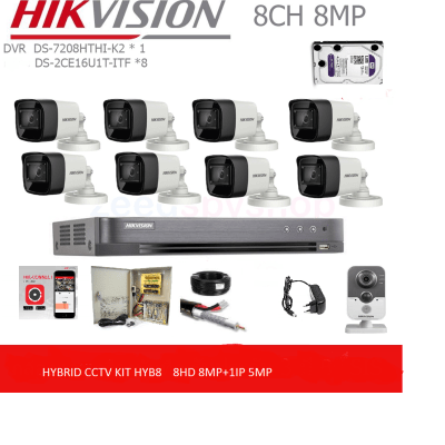 HIKVISION DS7208HTHI-K2 HYBRID