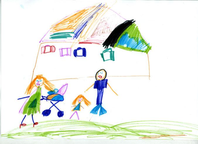 Психологический рисуночный тест «Моя семья»