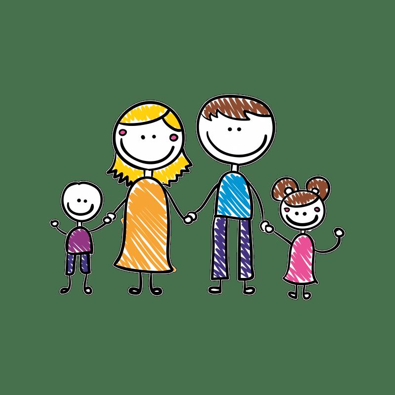 Страх потерять любовь мамы и папы у детей.