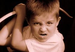 агрессия у детей фото