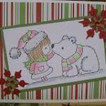 Penny Black Polar Bear Card