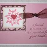 A Friend Card Using Storybook Cricut Cartridge