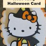 Halloween Hello Kitty Card