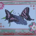 Handmade Butterfly Card Using Delicious Doodles Image