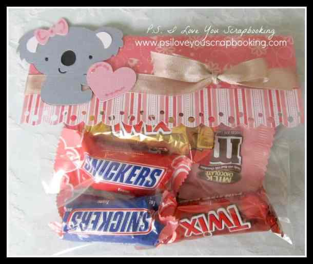 cricut create a critter 2 cricut cartridge koala bear treat bag 1