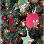 Christmas Cricut Tags