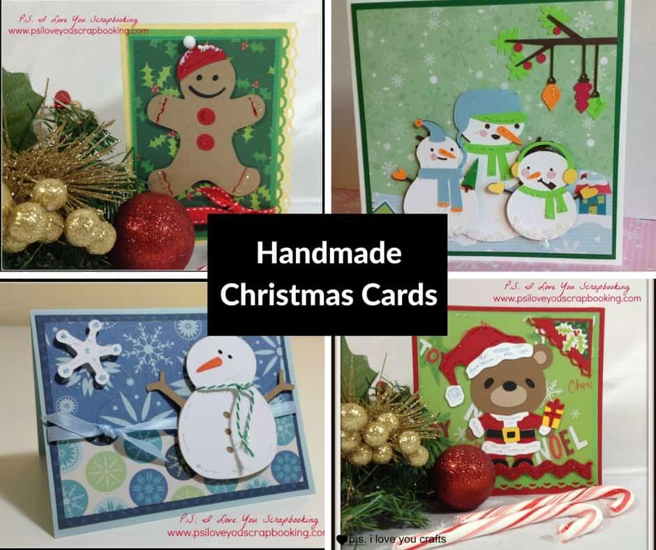Handmade Christmas Cards - P.S. I Love You Crafts