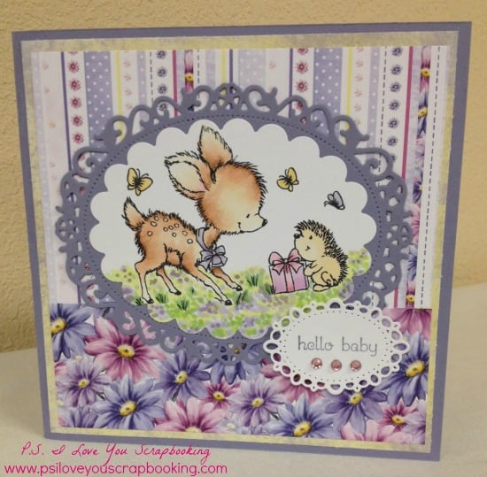 Learn to Make Handmade Cards - Here is everything that you need to know about learning this wonderful hobby. There is a supply list to get you started, tips and tricks, and a simple card for you to follow. Wild Rose Studio Bluebell and Hedgehog Handmade Card - This sweet baby card is adorable. It uses the deer and hedgehog stamp from Wild Rose Studios. I need to get that stamp!!
