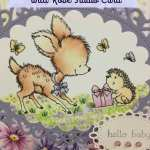 Wild Rose Studio Card – Bluebell with Hedgehog