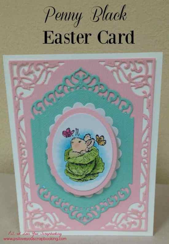 Bunny and Cabbage - Handmade Easter Card Ideas - Here are some Handmade Easter Cards that I've made using rubberstamps, the Cricut, Copic Markers, Spellbinders, and more!