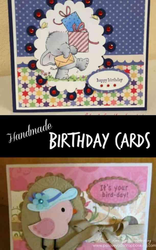 Handmade Birthday Cards Ps I Love You Crafts