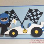Make A Cricut Racecar Card