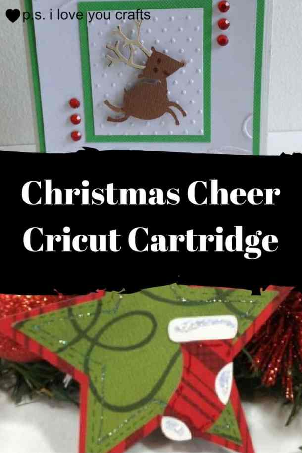 The Christmas Cheer Cricut Cartridge has all of the fun Christmas die cuts that you'll need for Christmas Cards, party favors, scrapbook pages, and Christmas decorations. The reindeer are sooo cute!!!