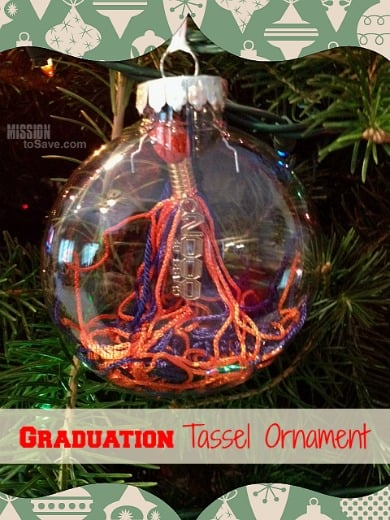 Graduation Tassel Ornament - Handmade Christmas Ornaments are so much to create during the holiday season. Here are 65+ Homemade Christmas Ornaments for Kids and Adults. They are broken down into felt ornaments, Christmas balls, country and rustic Christmas ornaments, and Christmas ornaments that kids can make.