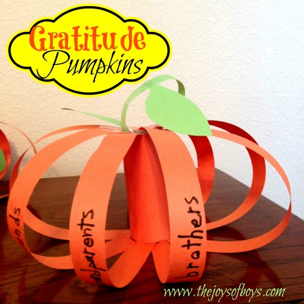 Paper Gratitude Pumpkins - Here are 20 Fall Paper Crafts to enjoy with your friends and family. Fall Home Decor, Fall and Thanksgiving Handmade Cards, Fall Printables, Kids' Crafts leaves, pumpkins, feathers, and so much more!