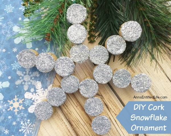 Cork Snowflake - Handmade Christmas Ornaments are so much to create during the holiday season. Here are 65+ Homemade Christmas Ornaments for Kids and Adults. They are broken down into felt ornaments, Christmas balls, country and rustic Christmas ornaments, and Christmas ornaments that kids can make.