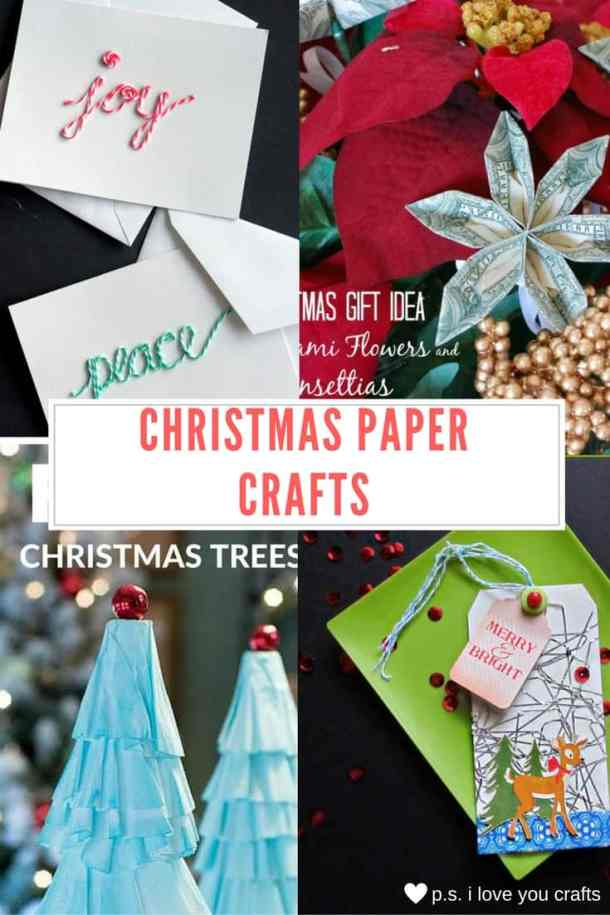 Here are more than 30 Christmas Paper Crafts for you to try this season. There are handmade Christmas Cards, decorations, Christmas ornaments, Gift wrapping ideas, gift tags, and printable Christmas decor. So many great ideas!