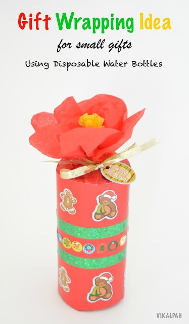 Gift wrapping ideas for small gifts - Here are more than 30 Christmas Paper Crafts for you to try this season. There are handmade Christmas Cards, decorations, Christmas ornaments, Gift wrapping ideas, gift tags, and printable Christmas decor. So many great ideas!