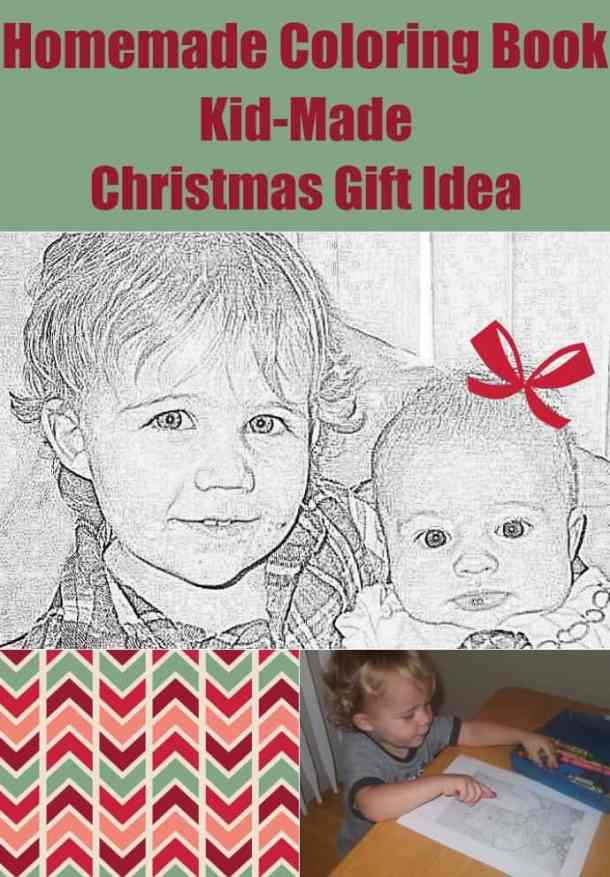 Handmade Coloring Book Using Family Photos - Here are more than 30 Christmas Paper Crafts for you to try this season. There are handmade Christmas Cards, decorations, Christmas ornaments, Gift wrapping ideas, gift tags, and printable Christmas decor. So many great ideas!