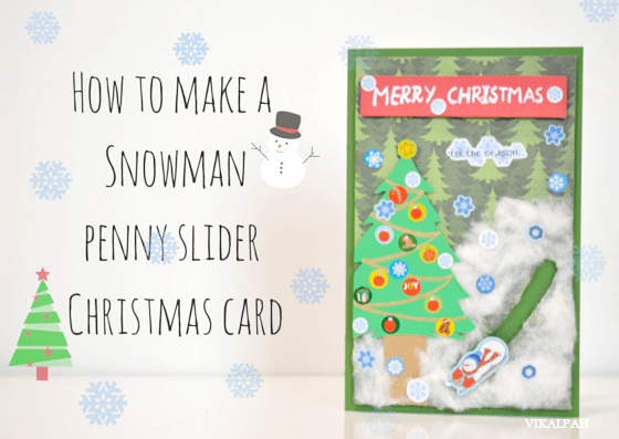 Snowman Slider Card - Here are more than 30 Christmas Paper Crafts for you to try this season. There are handmade Christmas Cards, decorations, Christmas ornaments, Gift wrapping ideas, gift tags, and printable Christmas decor. So many great ideas!