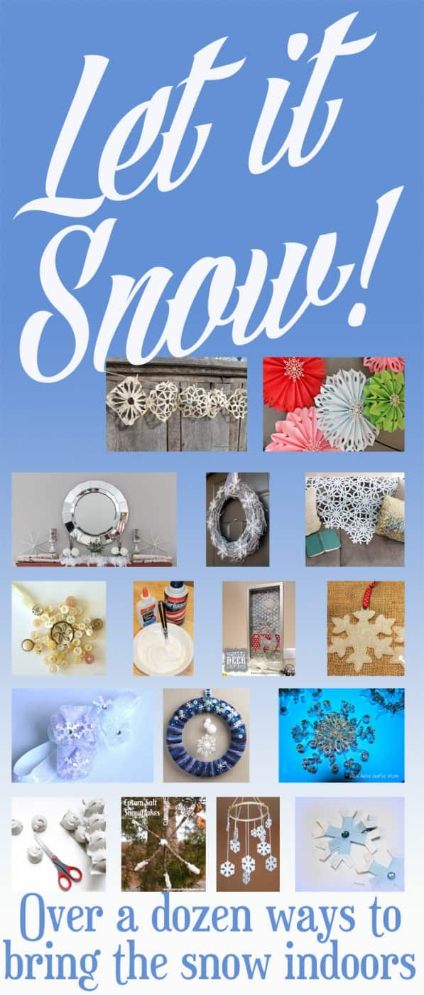 Snowflake Christmas Decorations - Here are more than 30 Christmas Paper Crafts for you to try this season. There are handmade Christmas Cards, decorations, Christmas ornaments, Gift wrapping ideas, gift tags, and printable Christmas decor. So many great ideas!