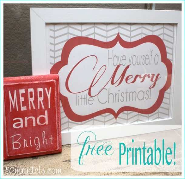 Easy Printable Craft - Here are more than 30 Christmas Paper Crafts for you to try this season. There are handmade Christmas Cards, decorations, Christmas ornaments, Gift wrapping ideas, gift tags, and printable Christmas decor. So many great ideas!