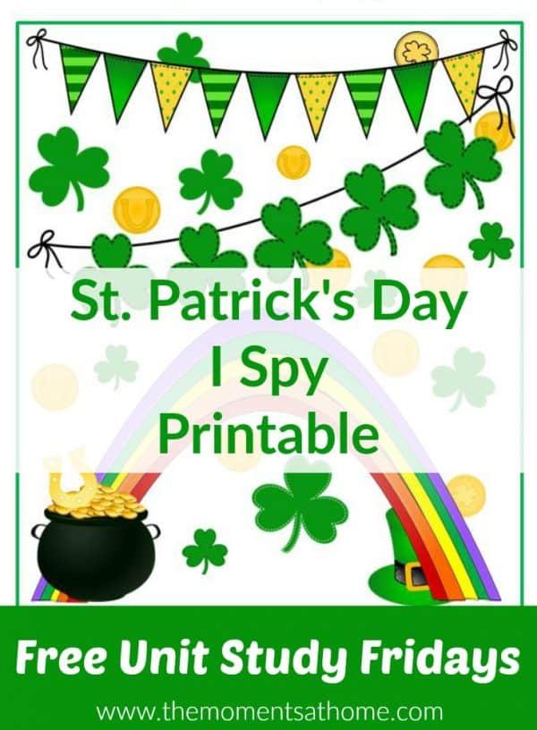 I spy printable
