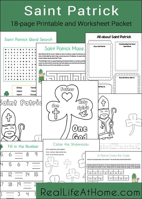 St patricks day printable worksheets