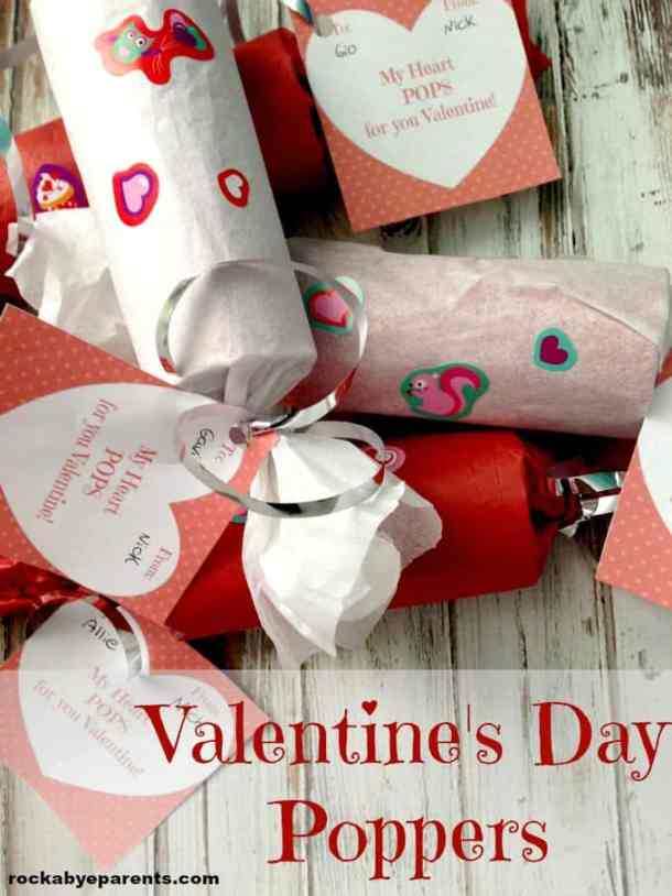 Valentine's Day Poppers - Valentine's Day Paper Crafts are fun and easy. If you're a card maker or scrapbooker, you probably have all the supplies you need to get started with these paper crafting projects. There are clever handmade cards with secret messages, Valentine's Day Games for the kids, and home decor. I need to try some of these!