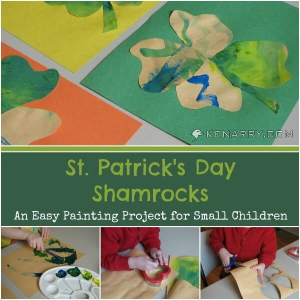 st patrick's day kids craft