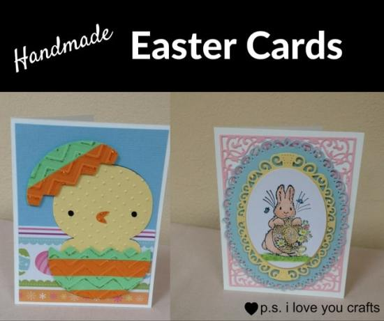 Handmade Easter Cards - Easter Paper Crafts are so fun and easy to make. Here's a variety of cards, printables, and home decor to keep you and the kids busy.