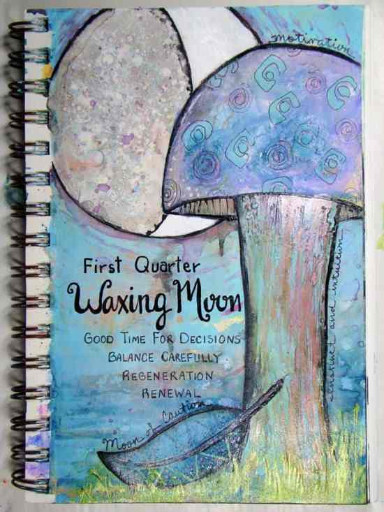 Art Journaling for Beginners - This is my first project with art journaling and mixed media. I consider it more of an art than a craft, but I really enjoy it. Here are some samples of mixed media art and art journals from others who have been doing this a long time.