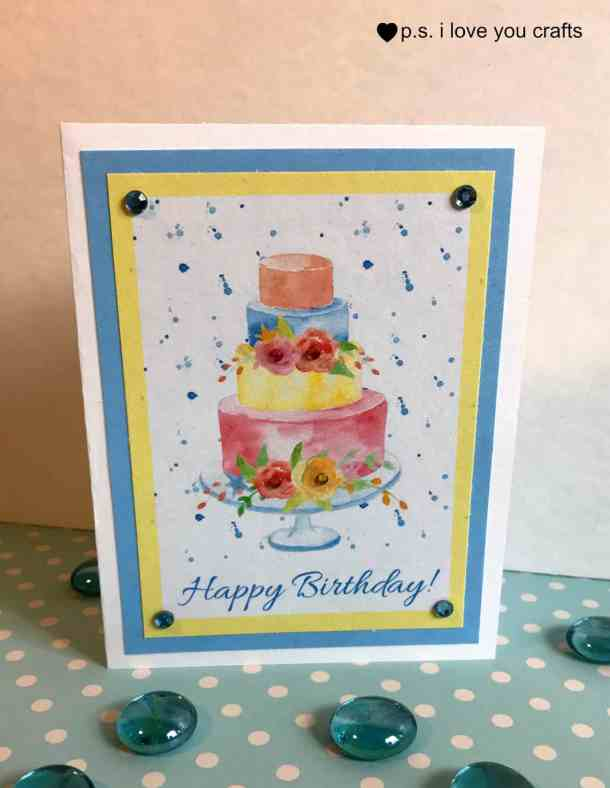 Free Printable Birthday Card Ps I Love You Crafts