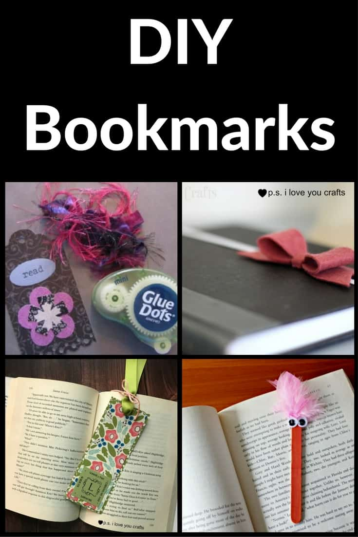 DIY Bookmark Ideas for Kids and Adults  PS I Love You