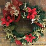 Dollar Tree Christmas Wreath