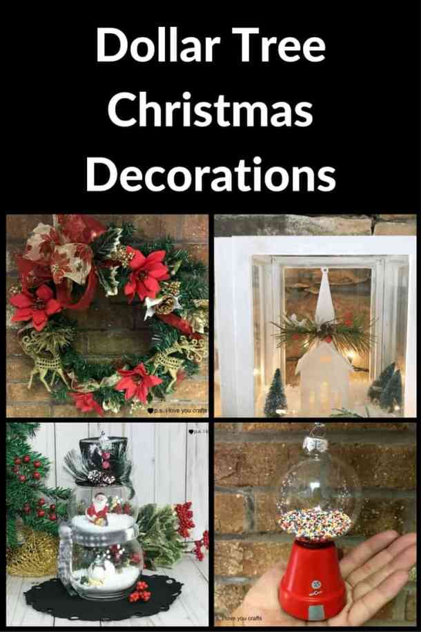 thank goodness for dollar tree christmas decorations to help keep you on your holiday budget here are some of the best dollar store christmas crafts and - Dollar Store Christmas Crafts