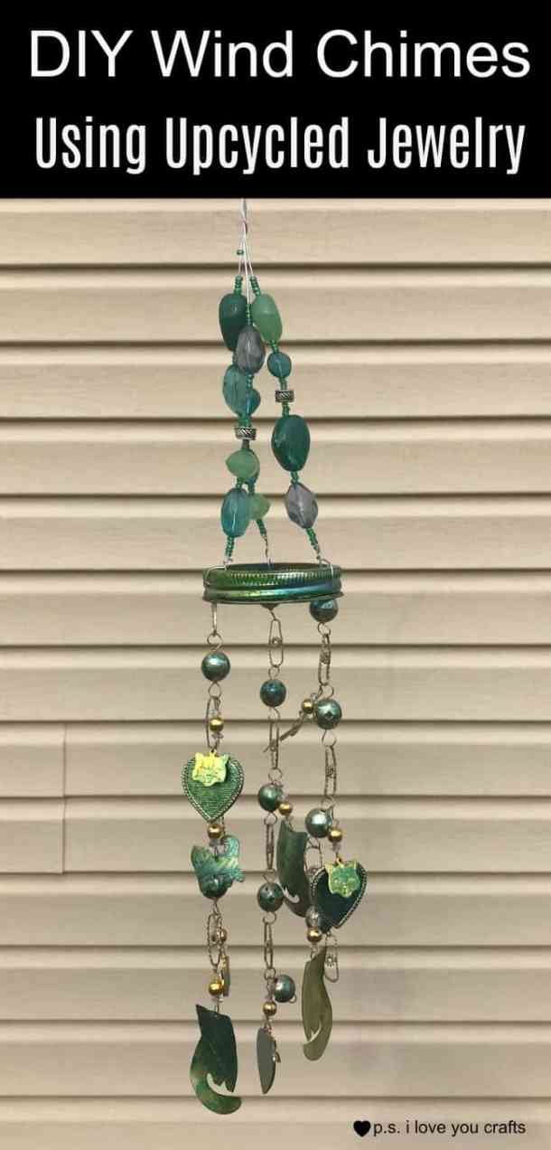Diy Wind Chimes For My Garden P S I Love You Crafts