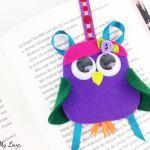 Mix and Match Felt Owl Bookmark
