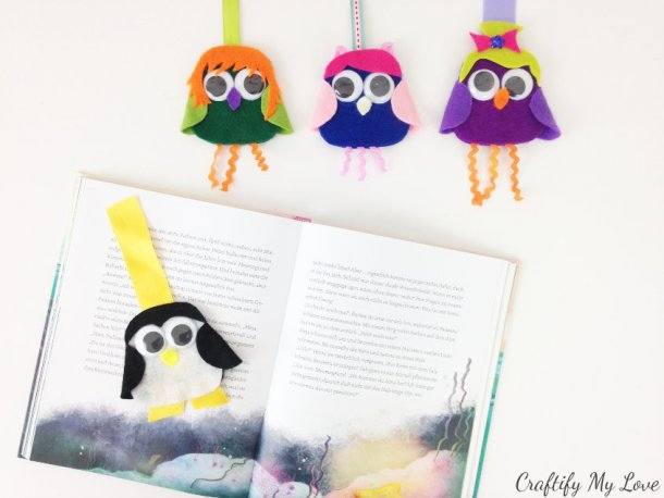 reading motivation for kids: fun happy bookmark crafting video tutorial