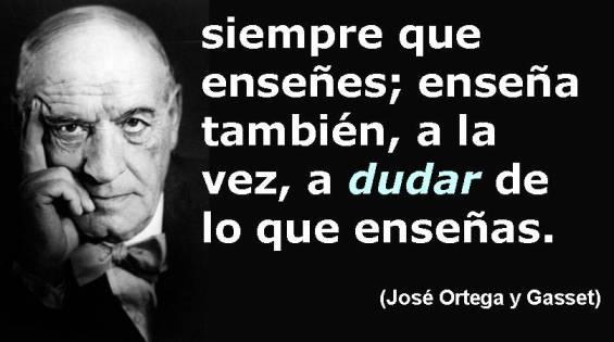 Frases filosóficas José Ortega y Gasset