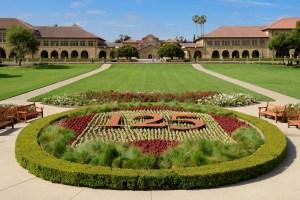 Fotografía del parque de la Stanford University